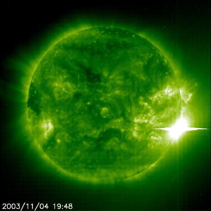 Super tempestade solar