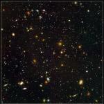 A visão de campo ultra profundo do Hubble em 3D