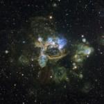 N44: a complexa nebulosa de emissão sob a lente de Don Goldman