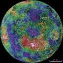 Venus Magellan north pole
