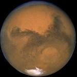 Como o vento solar faz com que Marte perca continuamente sua atmosfera para o espaço?
