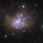 NGC 1313: uma galáxia explosiva incomum revelada por Robert Gendler
