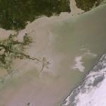 O satélite Envisat da ESA revela imagens dramáticas do derrame de óleo no Golfo do México