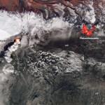 NASA mostra imagens dos pontos quentes do vulcão Eyjafjallajökull na Islândia