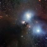 ESO mostra a região de R Coronae Australis, uma verdadeira aquarela cósmica
