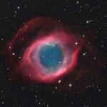 A Nebulosa da Helix revelada por Ed Henry via observatório Hay Creek