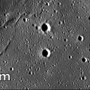 Vemos na foto crateras que pontuam a superfície de um mar lunar ou mar de basalto, no lado oculto da Lua. Através da contagem de crateras os cientistas determinaram que vulcões estiveram ativos no lado oculto da Lua bem mais tarde do que antes se julgava. Quanto menos crateras contamos, mais jovem a superfície que as abriga. Crédito: Science/AAAS