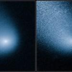 Hubble mostra imagens do cometa que vai dar um rasante em Marte em 19 de outubro de 2014