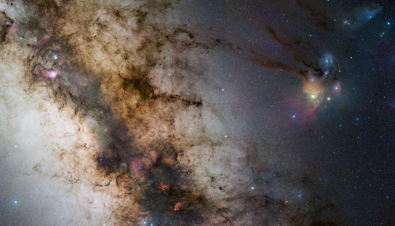 Mosaico com 1.200 imagens em 340 megapixels: o centro da Via Láctea por Stéphane Guisard