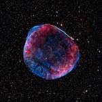 Mosaico da SN 1006 revela detalhes intrincados da nebulosa remanescente