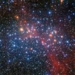NGC 3532: Estrelas de meia idade se agrupam em panorama estelar