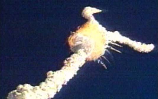 09 de março de 1986 - Localização dos escombros da Challenger
