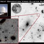 Pesquisa NGVS descobre centenas de galáxias tênues no aglomerado de Virgem