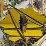 Vídeo mostra importante teste do mecanismo de elevação dos 18 espelhos montados do telescópio JWST