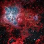 A teia cósmica da Nebulosa da Tarântula por Josep Drudis