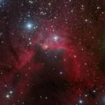 SH2-155: a Nebulosa da Caverna por Eric Coles e Mel Helm