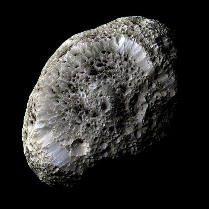 Imagem capturada pela sonda Cassini em 2005