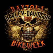 Daytona Harley-Davidson Bike Week 2012 Skull Blast