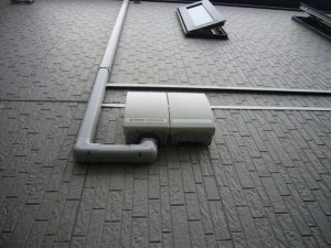 京セラ太陽光 施工事例 城陽市 接続箱