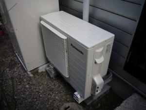 宇治市 オール電化工事 ヒートポンプ