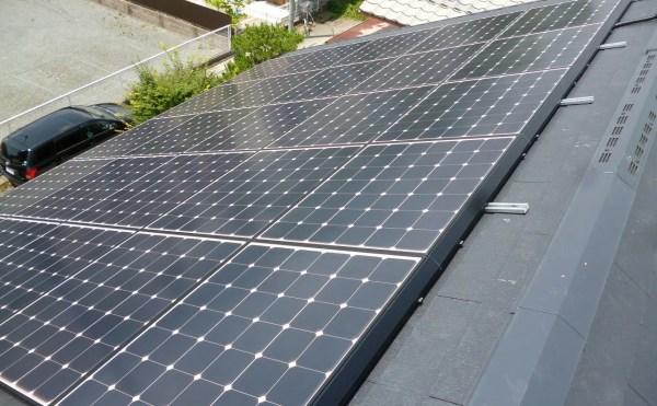 京都府亀岡市シャープ太陽光発電