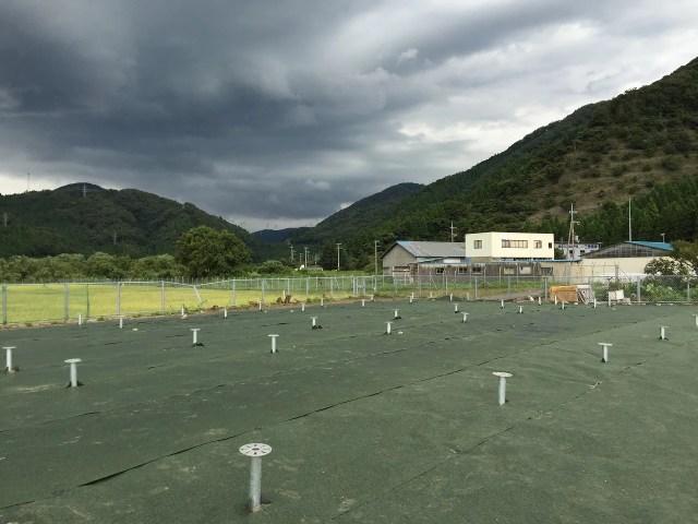 太陽光発電 防草シート