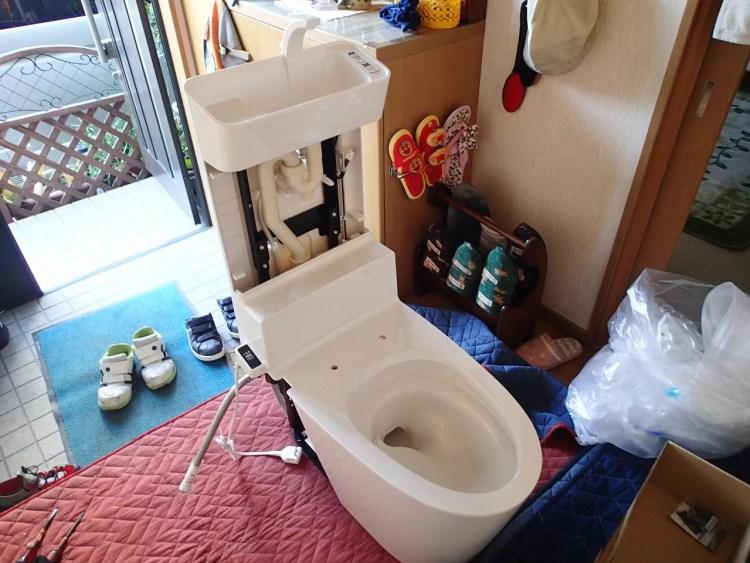 アラウーノV 手洗い組立