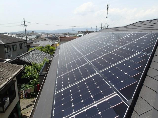 シャープ 太陽光発電施工事例