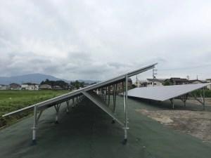 産業用太陽光発電 施工事例