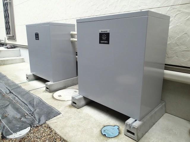 シャープクラウド蓄電池 宇治施工事例