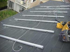 パナソニック太陽光発電 スレート金具