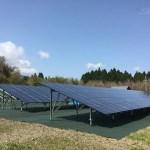 太陽光パネルの設置工事
