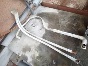 電気温水器 撤去後