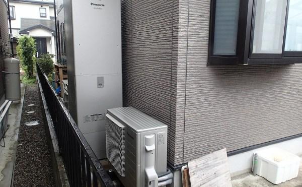 電気温水器から酸素機能付きエコキュートへの交換工事