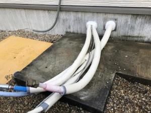 保温材で配管の保護