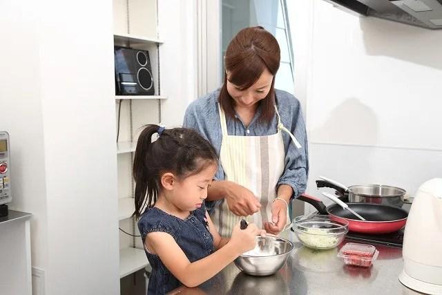 火がないから子供と料理する時も安心