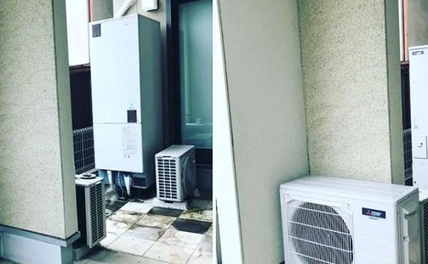 日立電気温水器から三菱エコキュートへ