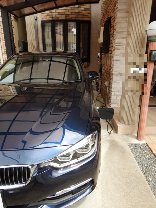 BMWの充電設備