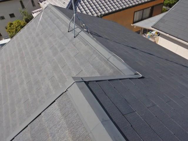 屋根の上も固定