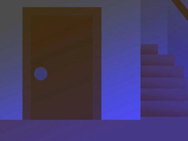 停電で真っ暗になるイメージ