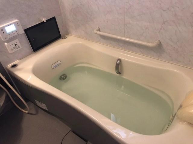 お風呂の試運転