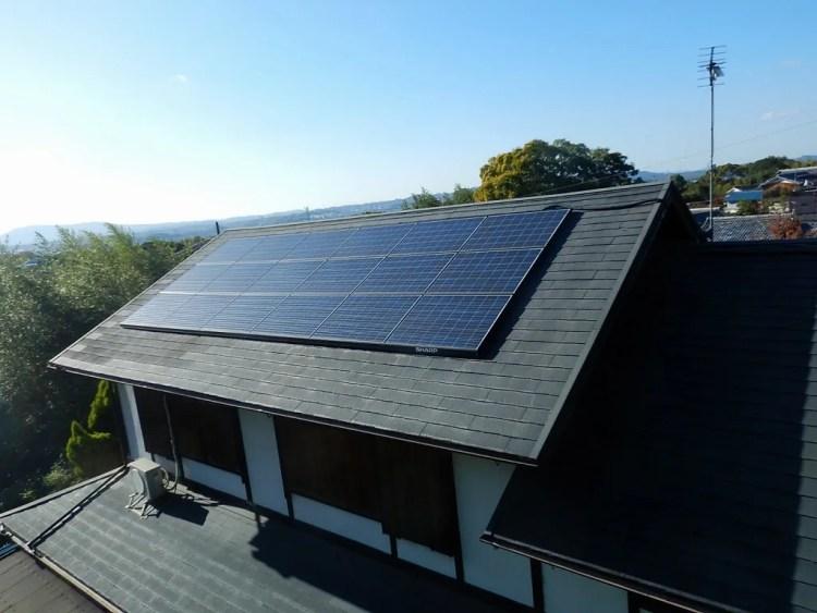 シャープ太陽光発電