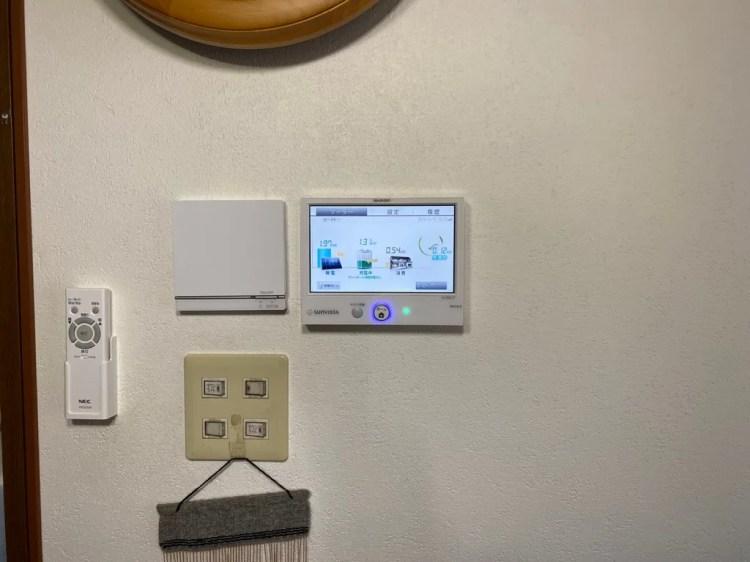 太陽光用発電モニター