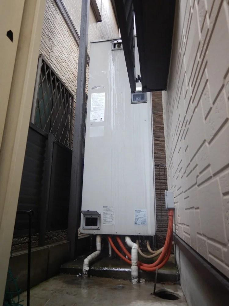 三菱電気温水器の故障