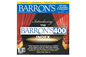 Newly launched Barron's 400 ETF offers smart beta access to US stocks