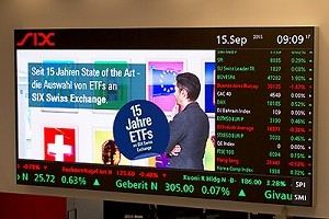 SIX Swiss Exchange marks 15 year ETF listing milestone