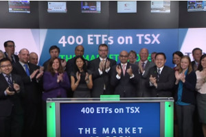 Toronto Stock Exchange reach milestone of 400 listed ETFs