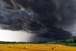 Severe weather causing a storm in agricultural ETPs