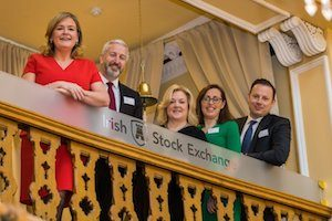 The Irish Stock Exchange rings the bell for gender equality.