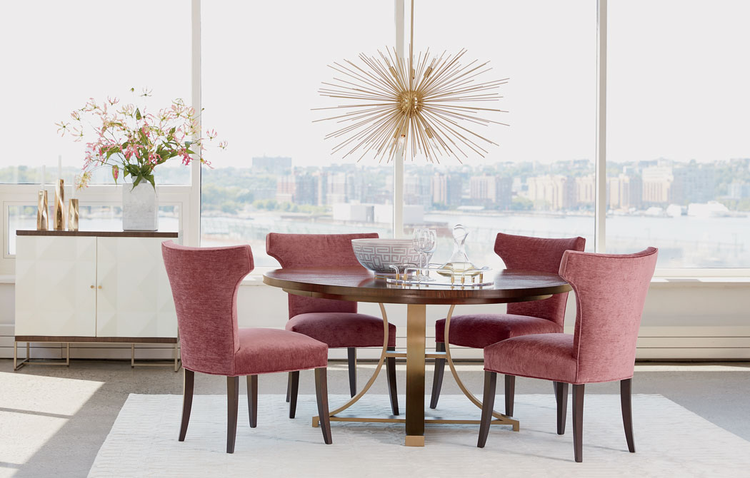 Art Deco Dining Chairs Glamorous Art Deco Dining Room Inspiration Ethan Allen Design